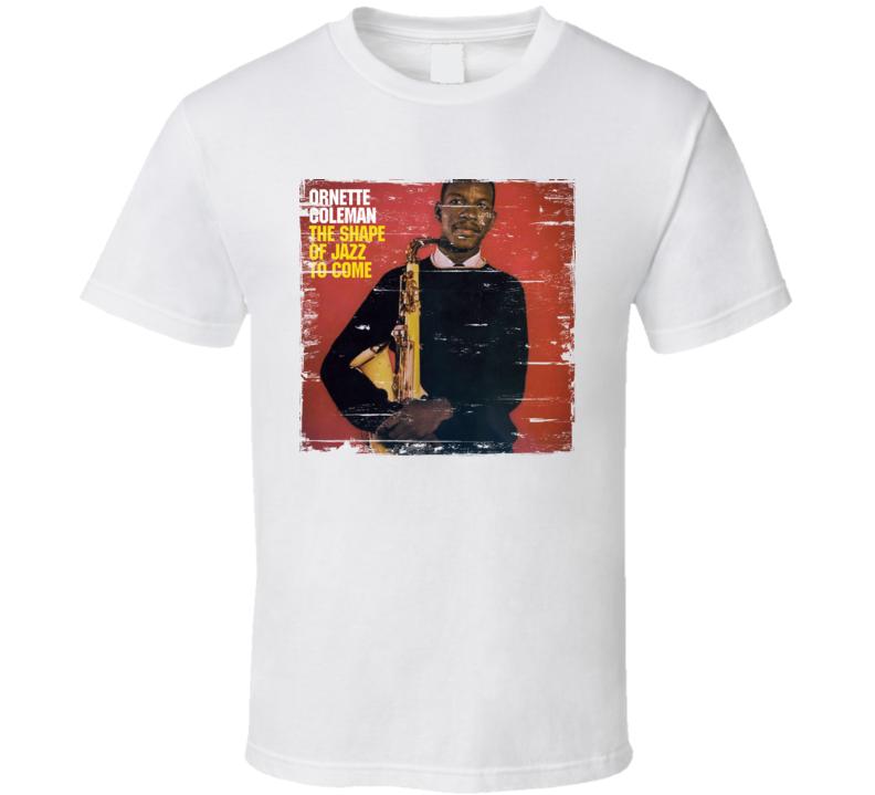 Ornette Coleman Album Worn Image Tee