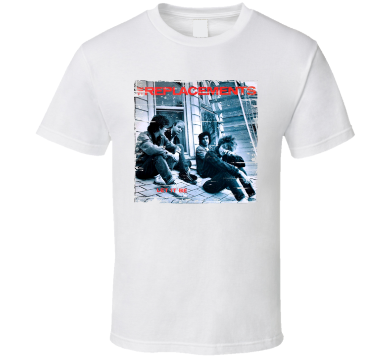 The Replacements Let It Be Worn Image Tee