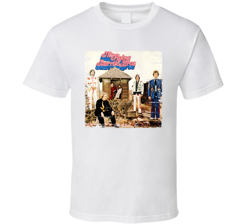 The Flying Burrito Brothers Worn Image Tee