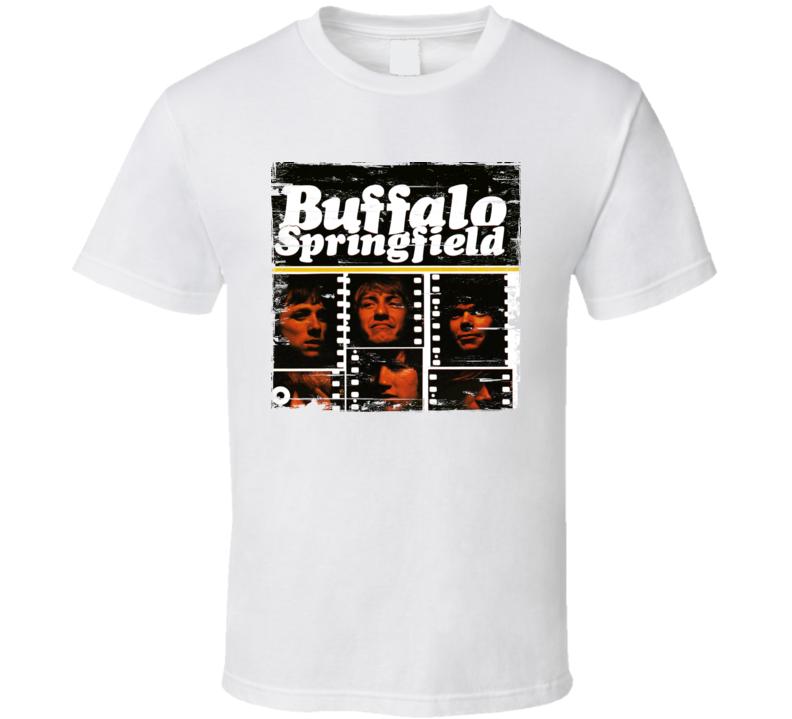 Buffalo Springfield Album Worn Image Tee