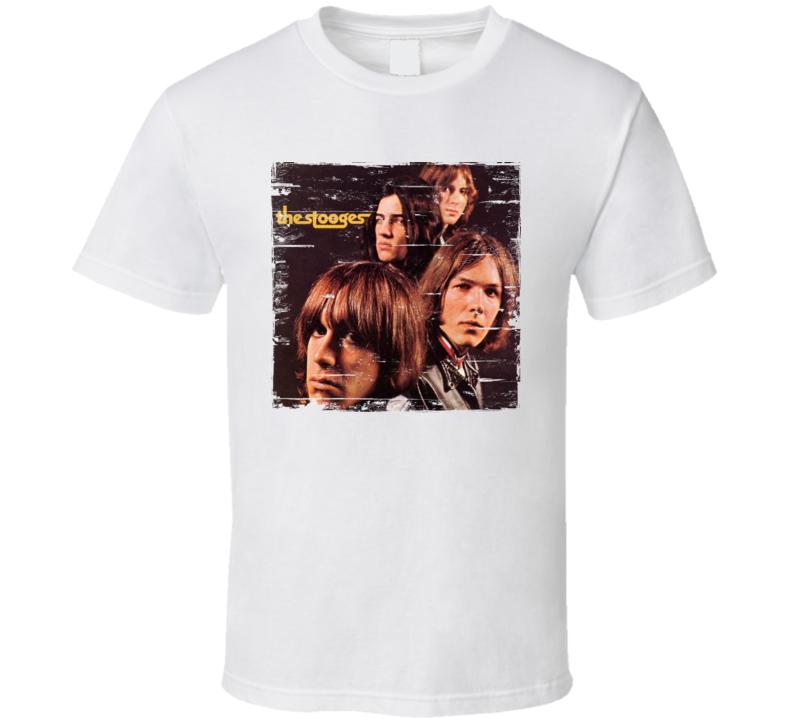 The Stooges Album Worn Image Tee