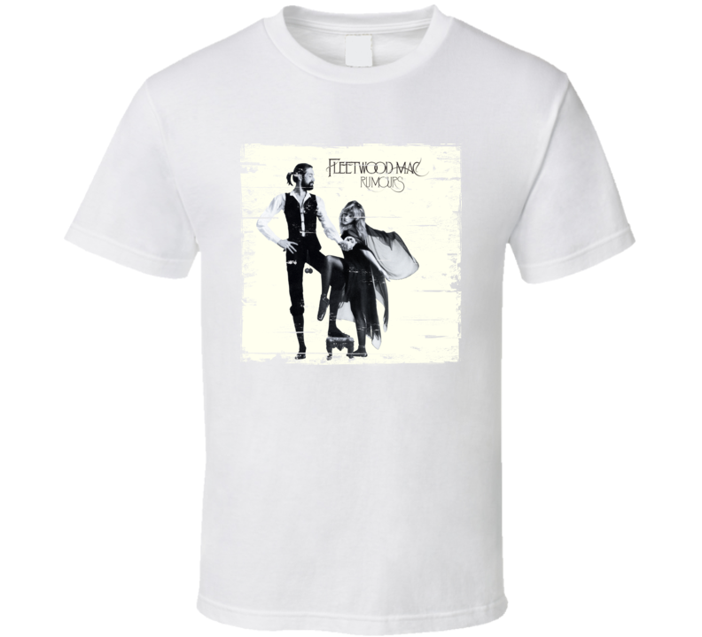 Fleetwood Mac Rumours Worn Image Tee