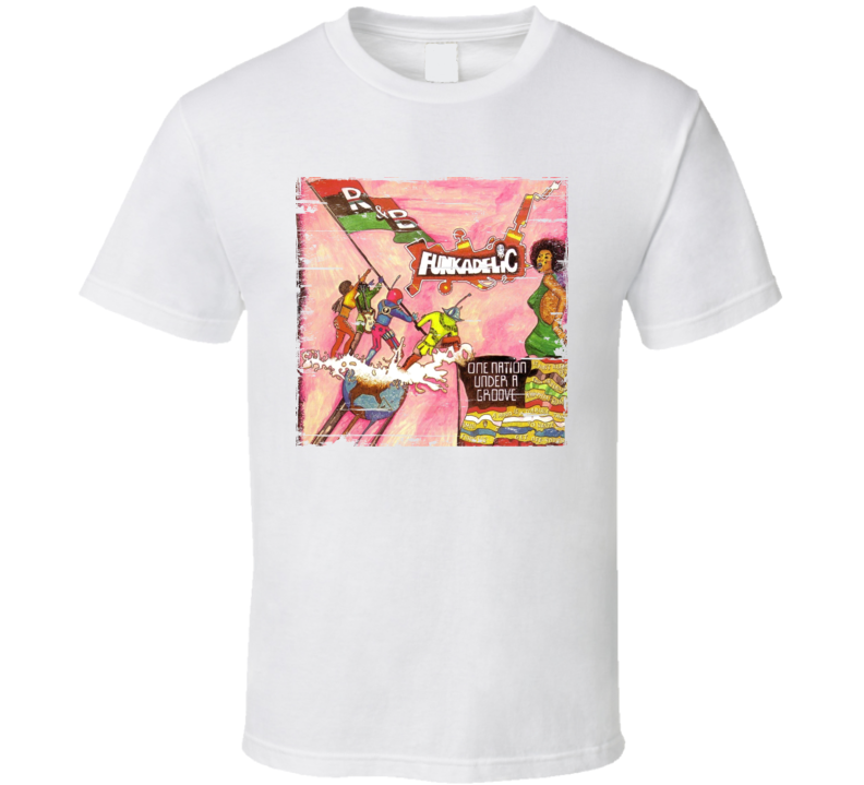 Funkadelic One Nation Under A Groove Worn Image Tee