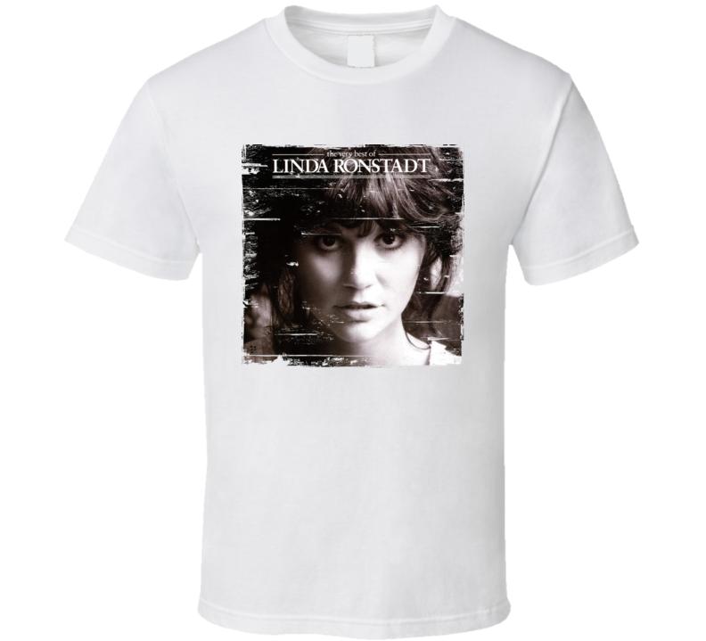 Linda Ronstadt Album Worn Image Tee