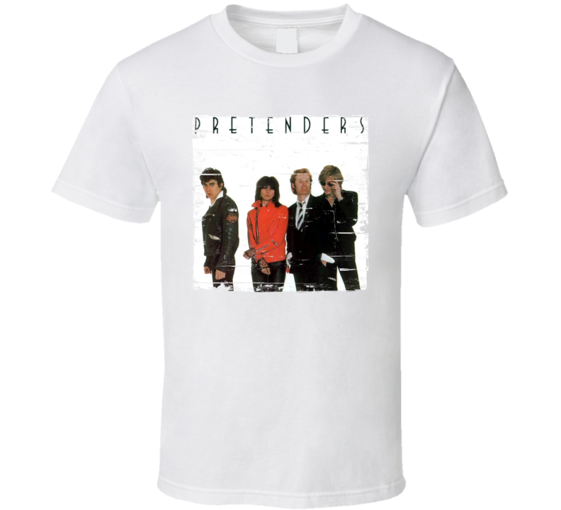 The Pretenders Album Worn Image Tee