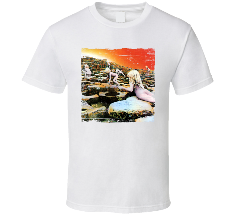 Led Zeppelin Houses Of The Holy Worn Image Tee