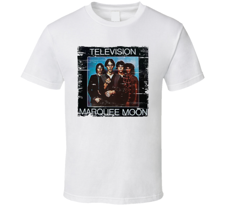 Television Marquee Moon Worn Image Tee