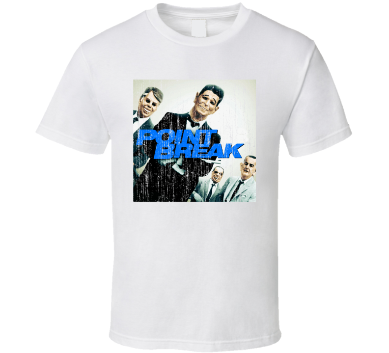 Point Break Movie Poster Worn Image Tee T Shirt