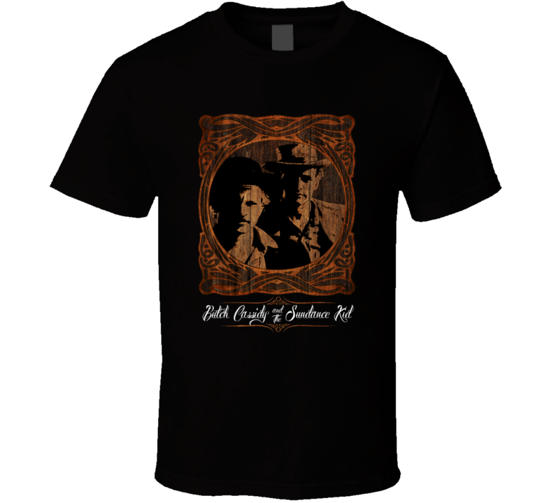 Butch Cassidy And The Sundance Kid Movie Tee T Shirt
