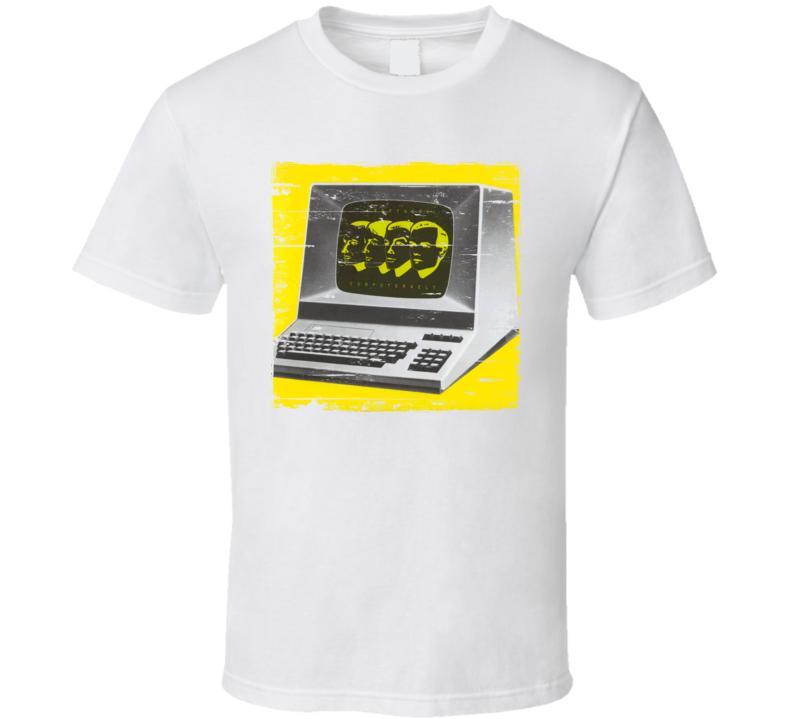 Kraftwerk Computer World Album Worn Image Tee