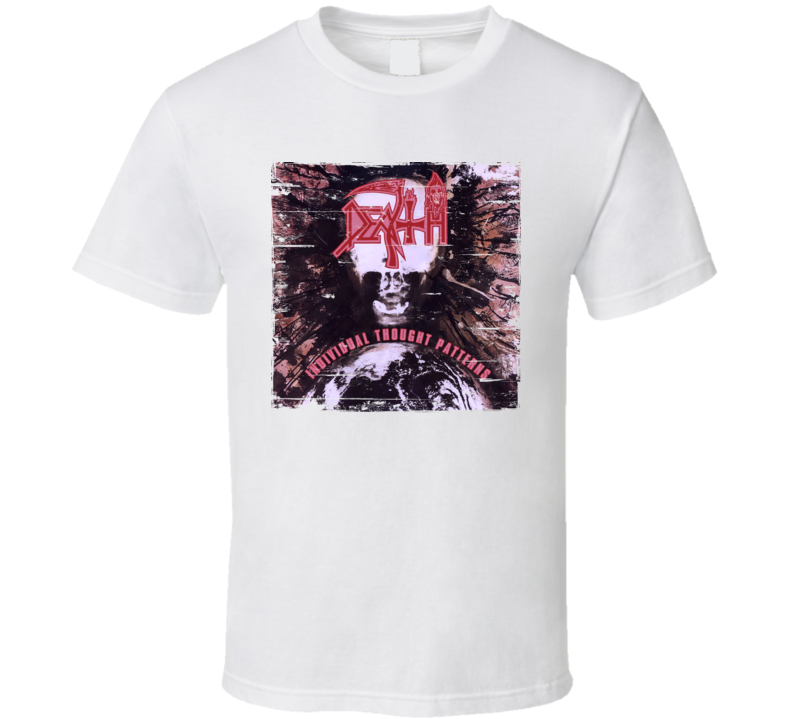 Death Individual Thought Patterns Worn Image Tee