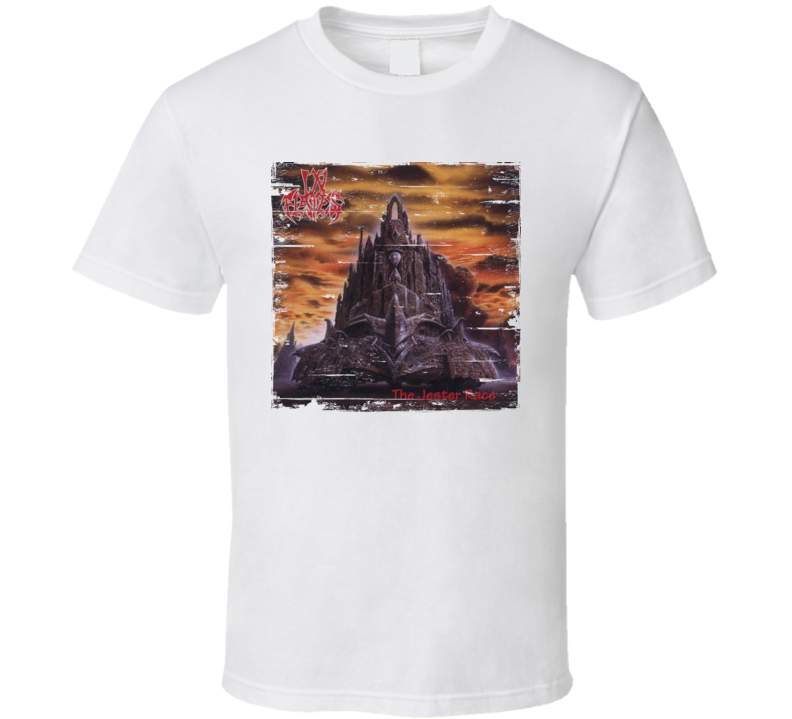 In Flames The Jester Race Album Worn Image Tee