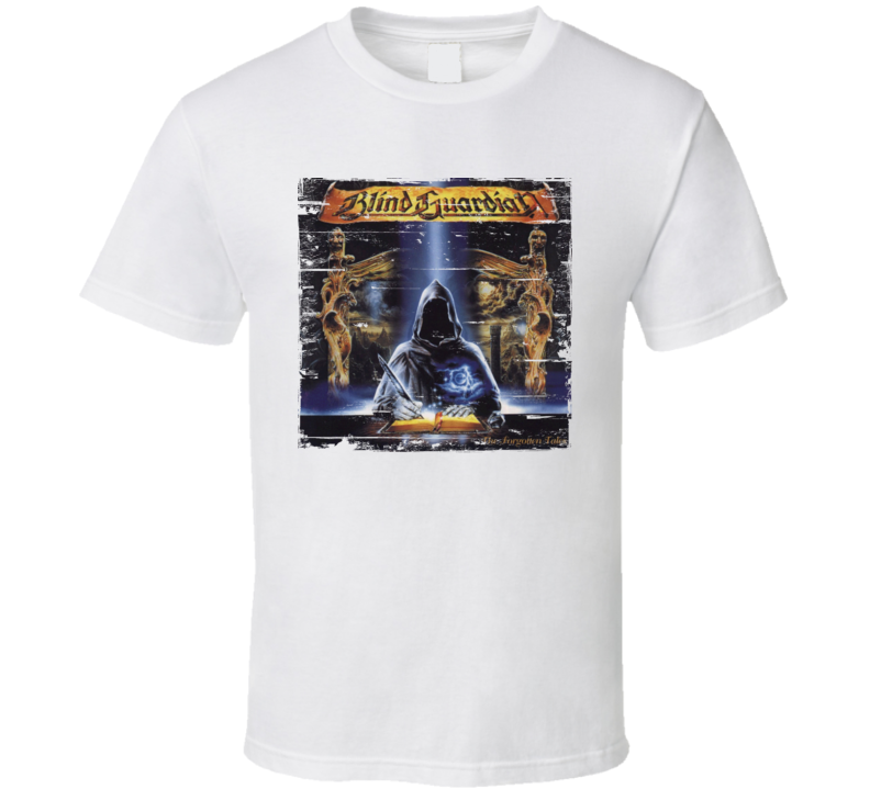 Blind Guardian The Forgotten Tales Worn Image Tee