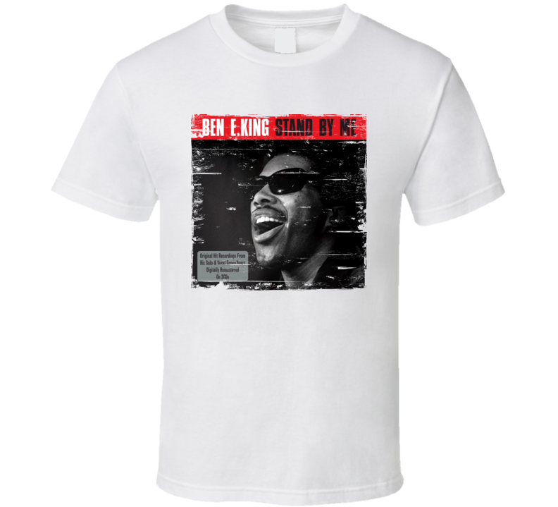 Ben E. King Stand By Me Album Worn Image Tee