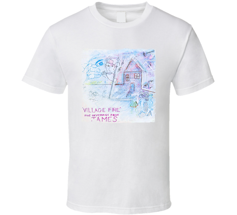 James Village Fire Album Worn Image Tee