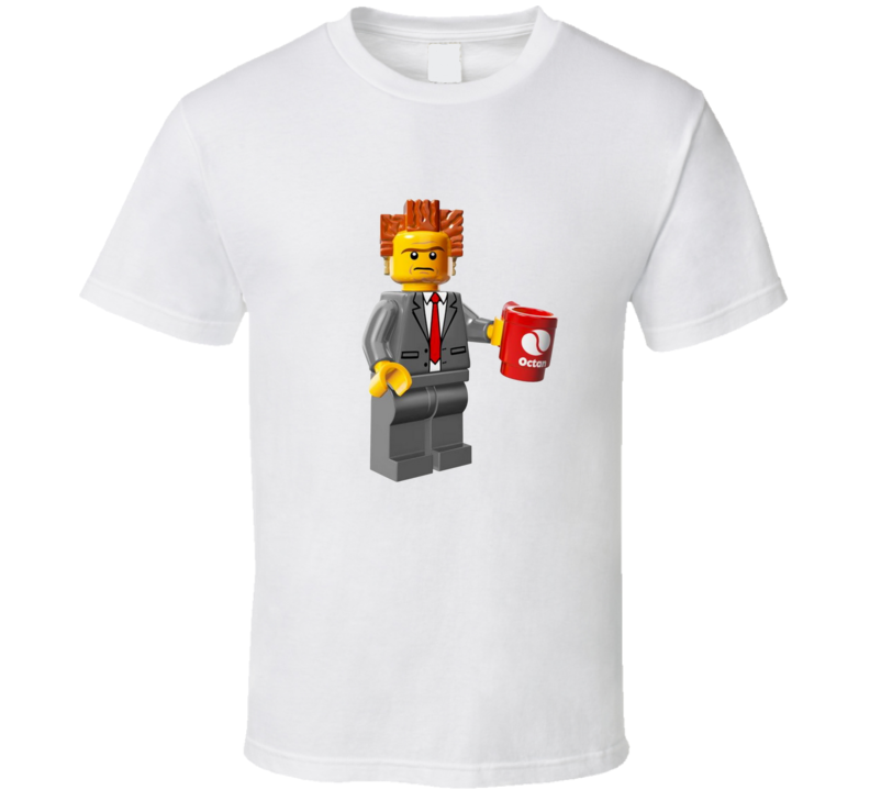 President Business from the Lego Movie T-Shirt