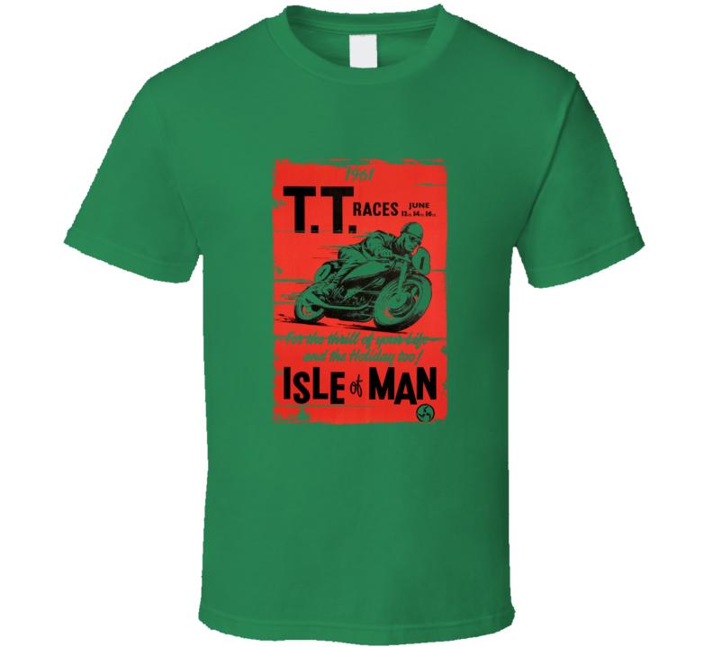 Isle Of Man TT Race Vintage Distressed T-Shirt