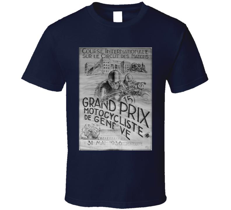 Grand Prix Motorcycle Vintage T-Shirt