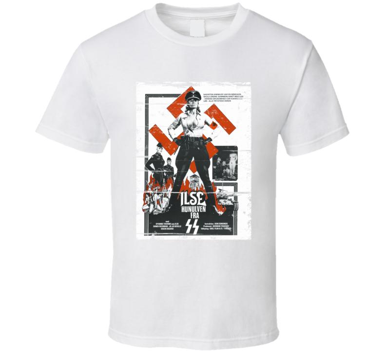 Ilse Nazi SS  Vintage Movie Poster Distressed T-Shirt