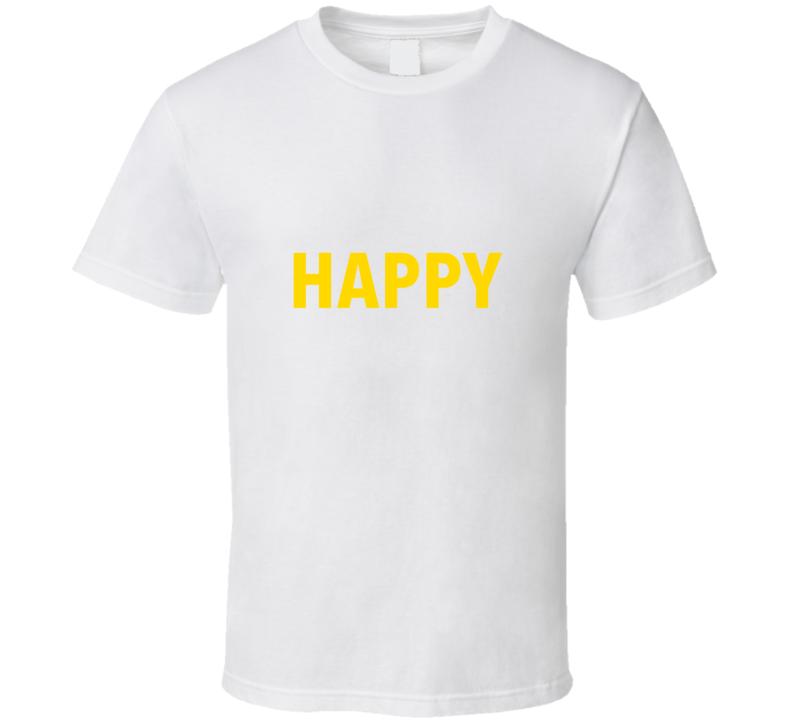 Pharrell Happy T-Shirt