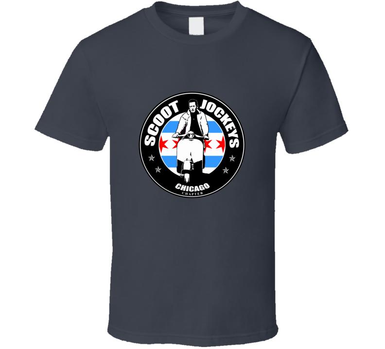 Scoot Jockeys Chicago T Shirt