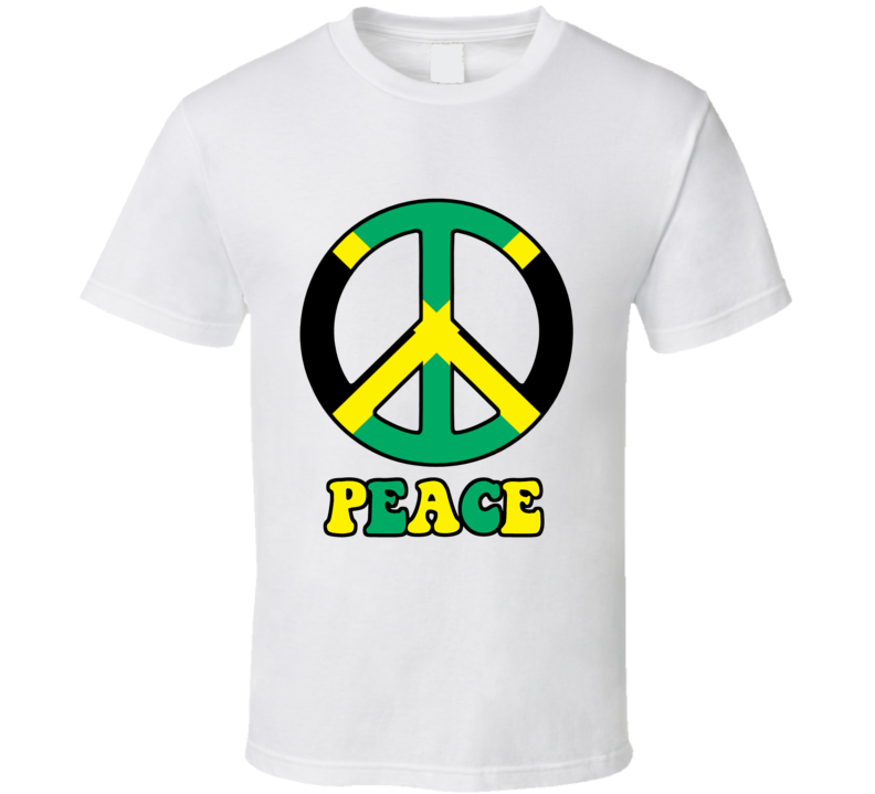Peace Jamaica  T Shirt