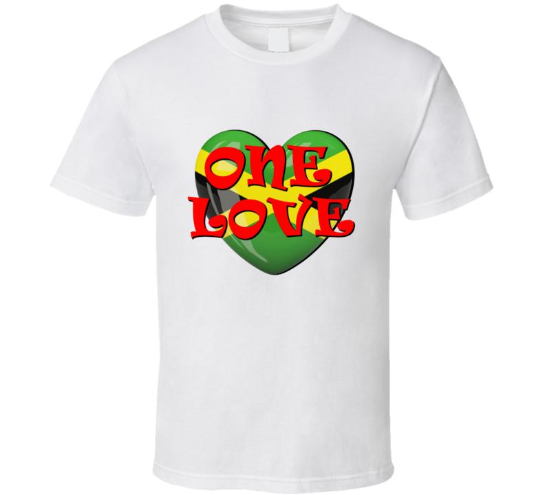 One Love Peace Unity T Shirt