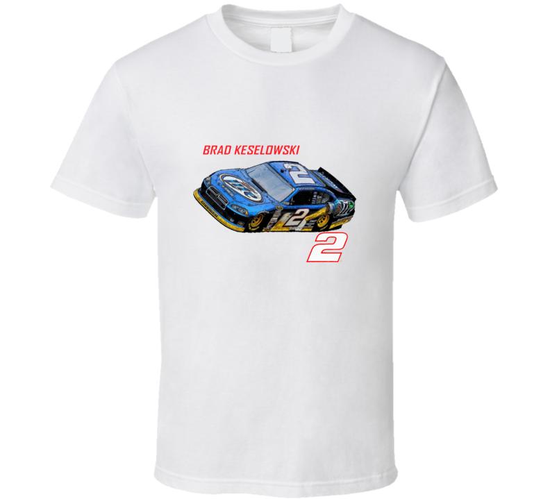Brad Keselowski Racing  T Shirt
