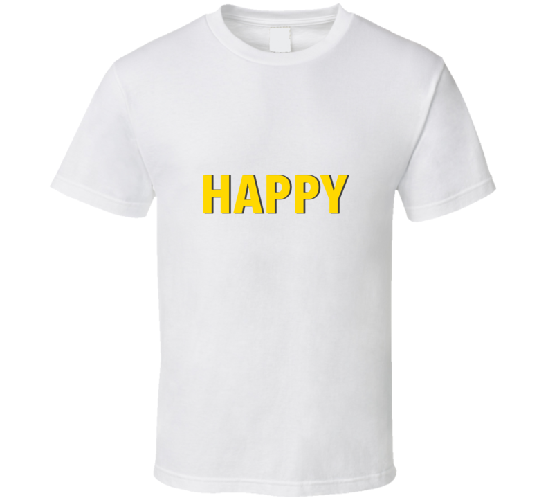 HAPPY! Pharrell Williams T Shirt