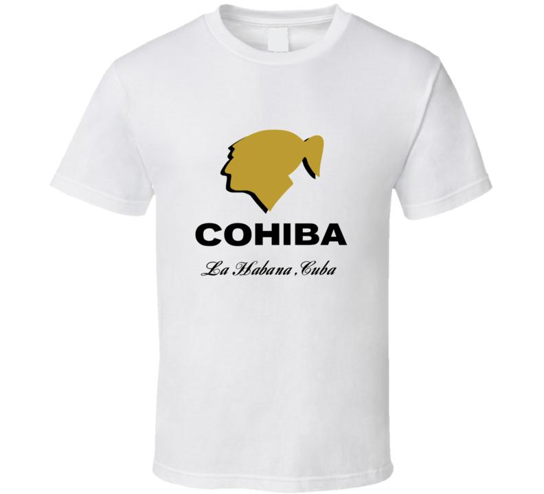 Cohiba Cigar La Habana Cuba Logo T Shirt