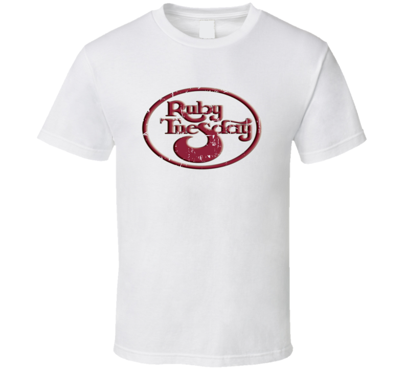 Ruby Tuesdays Fast Food Restaurant Distressed Look T Shirt