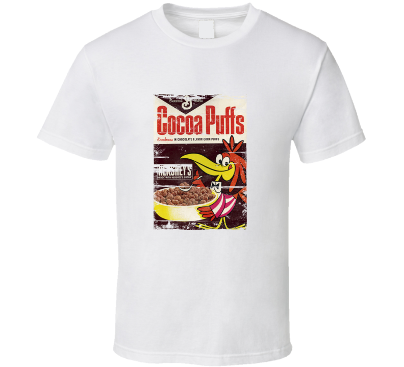 Cocoa Puffs Retro Distressed T Shirt