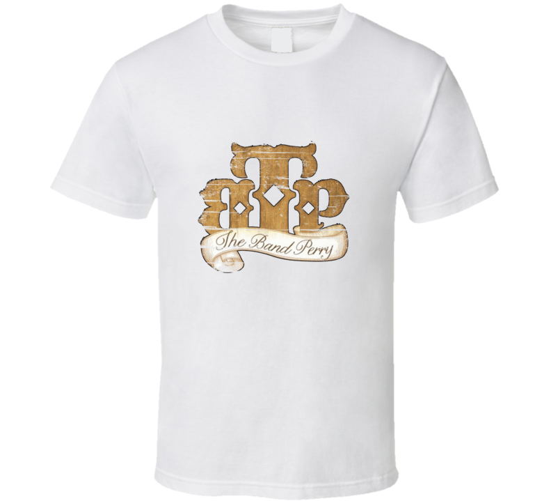Country Music Band Perry Aged Look T Shirt