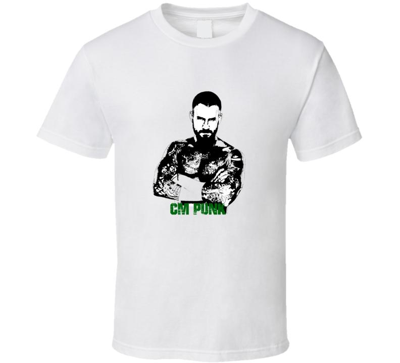 CM Punk Wrestling T Shirt