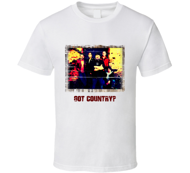 Got Country Zak Brown Band Distressed T Shirt