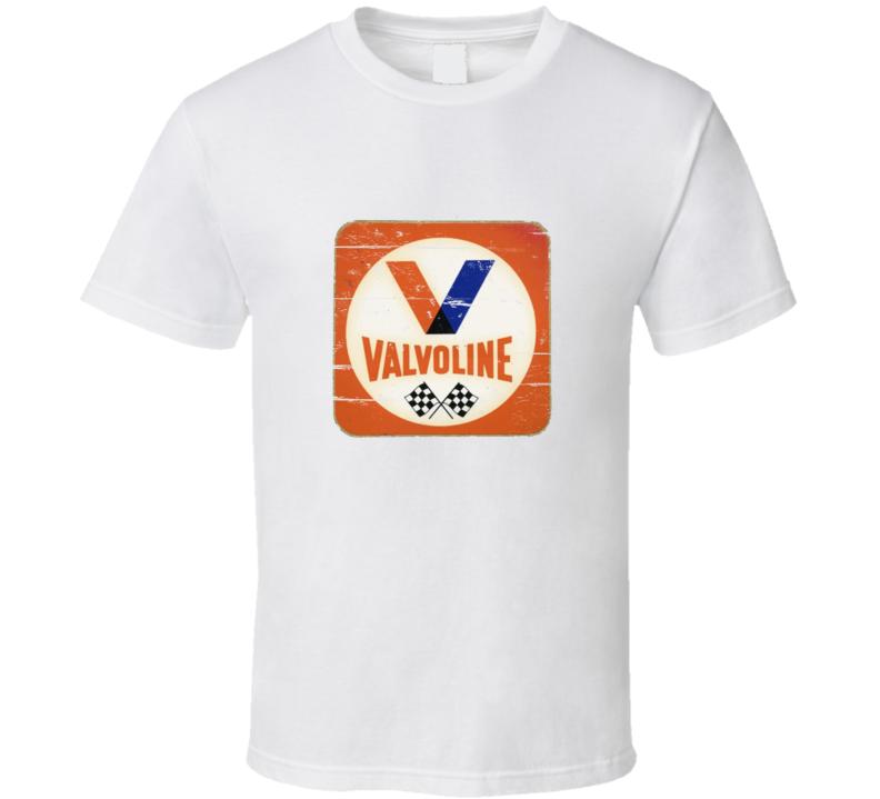 Valvoline Vintage Distressed Look T Shirt