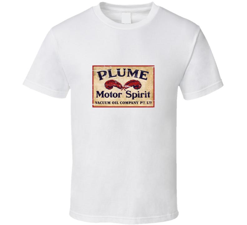 Plume Motor Spirit Oil Company Vintage T Shirt