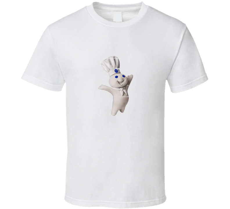 Pilsbury Doughboy Retro Distressed Look T Shirt