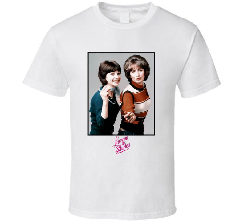 Laverne and Shirley Retro T Shirt