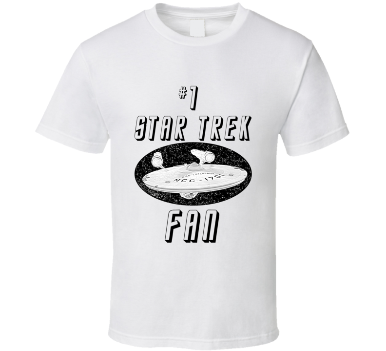 #1 Star Trek Fan T Shirt