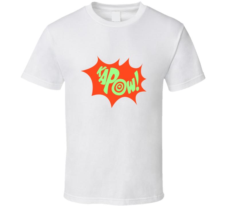 Kapow! Vintage Look T Shirt