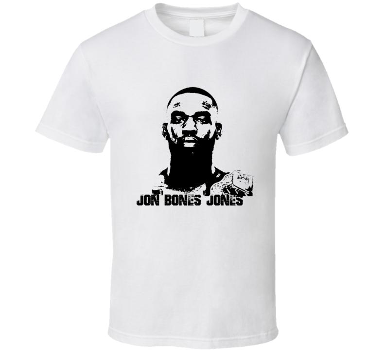 Jon Bones Jones MMA Champion Fighter Image T Shirt