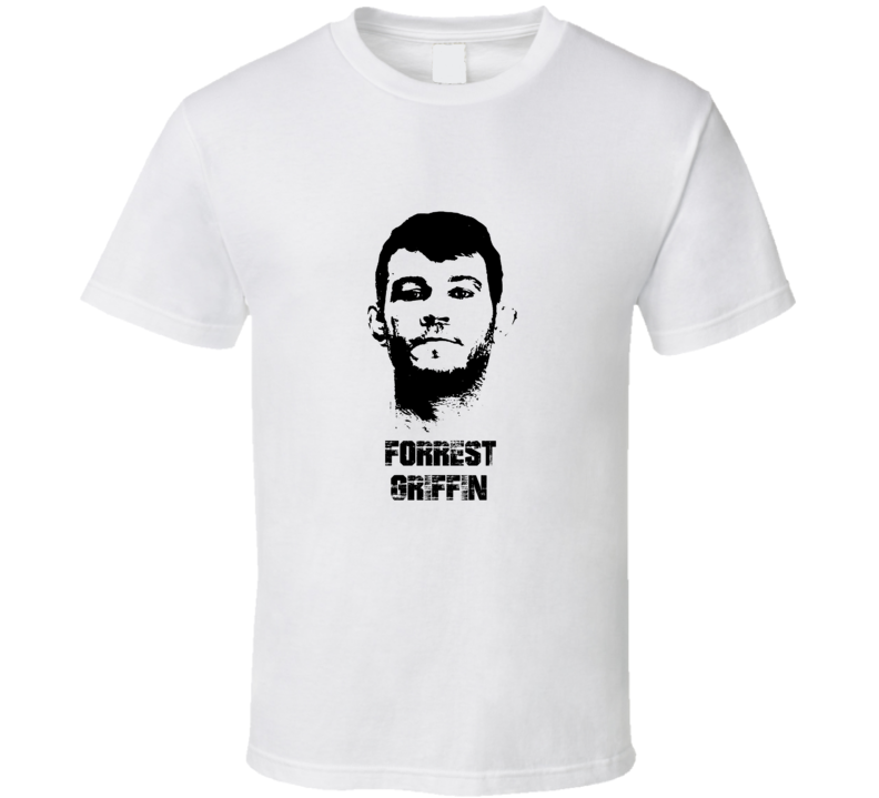 Forrest Griffin MMA Fighter Image T Shirt
