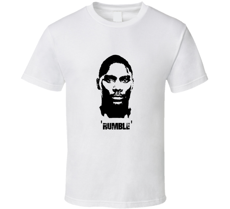 Anthony Rumble Johnson MMA Fighter Image T Shirt