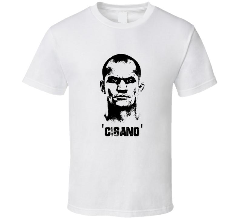 Junior Cigano Dos Santos MMA Fighter Image T Shirt