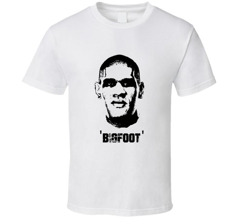 Antonio Bigfoot Silva MMA Fighter Image T Shirt