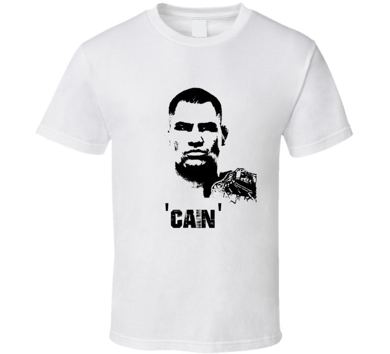 Cain Velasquez MMA Fighter Image T Shirt
