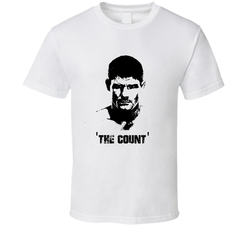 Michael The Count Bisping MMA Fighter Image T Shirt
