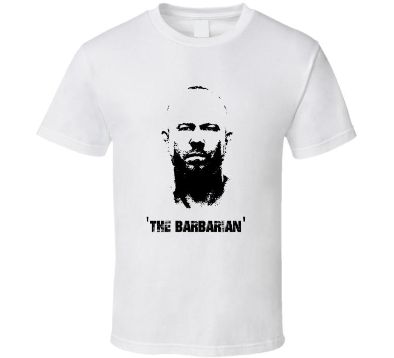 Tim The Barbarian Boetsch MMA Fighter Image T Shirt