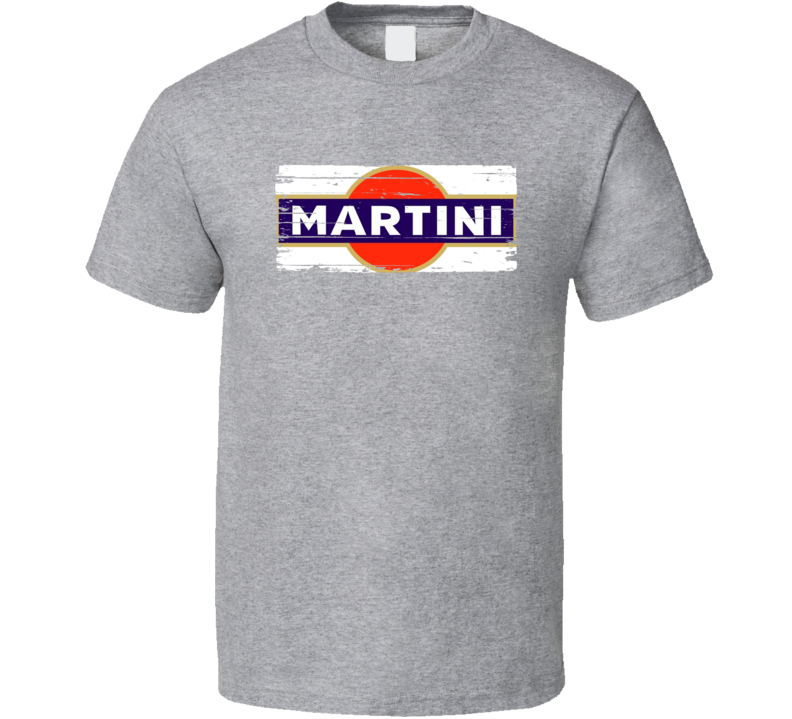 Martini Liqueur Alcohol Drinking Gift Worn Look T Shirt